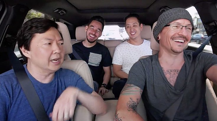 Just Before His Death, Chester Bennington Filmed The Best Episode Of 'Carpool Karaoke'… | Society Of Rock Videos