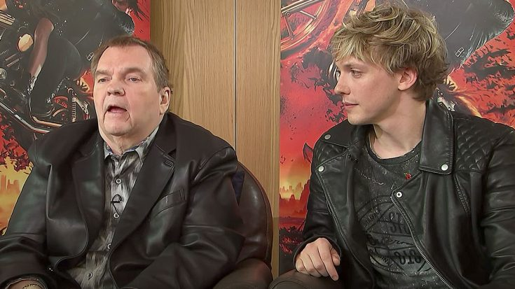 After Discussing 'Bat Out Of Hell: The Musical', Meat Loaf Ends The Interview With A Powerful Message | Society Of Rock Videos