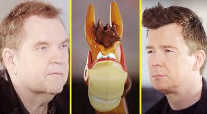See Meat Loaf Go Face-To-Face With Rick Astley In The Fiercest Game Of 'Buckaroo' Ever!