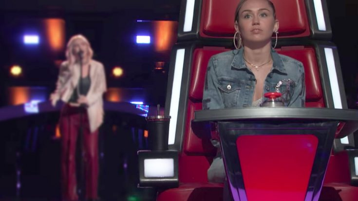 "Miley Cyrus Doppleganger's ""The Chain"" Cover Sends 'Voice' Judges Scrambling To Pick Her First 