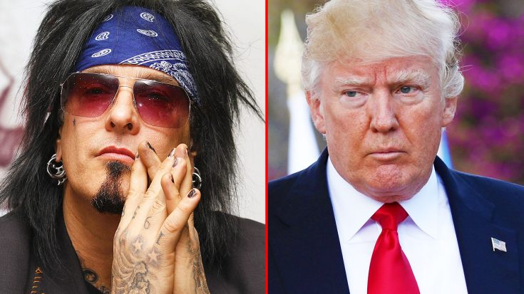 After The President's Latest Actions Regarding Healthcare, Nikki Sixx Blasts Trump In His Latest Interview | Society Of Rock Videos