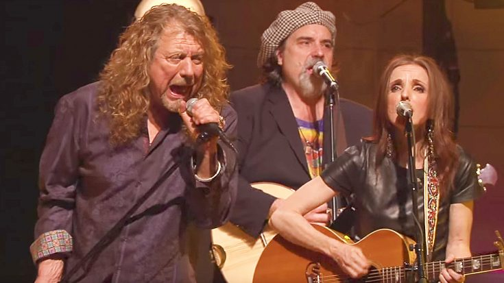Robert Plant Teams Up With Folk Artists To Put A New Twist on 'Ramble On,' & It's Purely Amazing! | Society Of Rock Videos