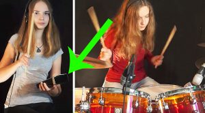 "Young Girl Plays Drum Cover Of ""(Don't Fear) The Reaper"" And Yes, There Is Indeed… More Cowbell"