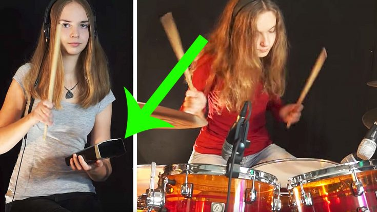 """Young Girl Plays Drum Cover Of """"(Don't Fear) The Reaper"""" And Yes, There Is Indeed… More Cowbell 