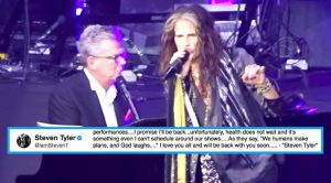Steven Tyler Makes Triumphant Return To The Stage One Month After Health Scare—Hear How He Sounds!