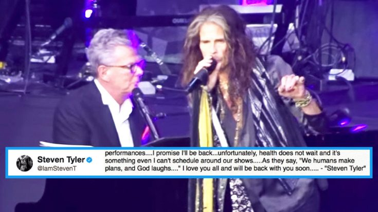 Steven Tyler Makes Triumphant Return To The Stage One Month After Health Scare—Hear How He Sounds! | Society Of Rock Videos