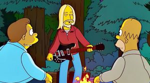 Y'all Remember When Tom Petty Was On 'The Simpsons' And Stole The Show? We Do, And It Was Incredible!