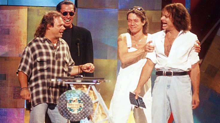 Van Halen's 1996 MTV Awards Reunion Was A Great Idea…Until It Ended In An Epic Meltdown | Society Of Rock Videos