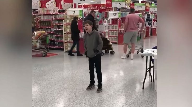 10 yr old Boy With Autism Finds Record Deal After Breaking Into Song- This Is How It's Done | Society Of Rock Videos