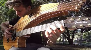 "Kansas' ""Dust In The Wind"" Is Played On A 12-String Harp Guitar And It's Mesmerizing"