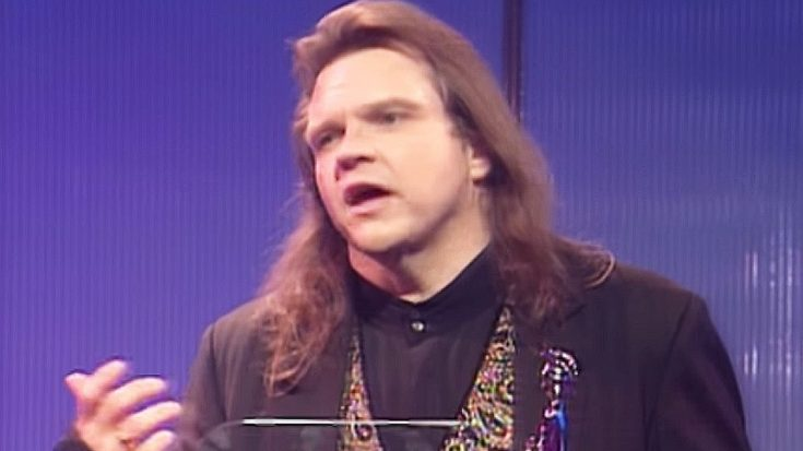 No Acceptance Speech Can Inspire You Quite Like Meat Loaf's Can At The 1994 Brit Awards | Society Of Rock Videos