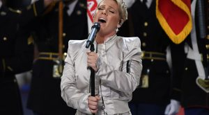 Even On Her Worst Day, Pink's National Anthem Is Still Exactly How It Should Always Be Sung