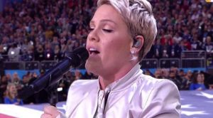 The Flu Didn't Stand A Chance Against Pink's Majestic Rendition Of 'The Star Spangled Banner'
