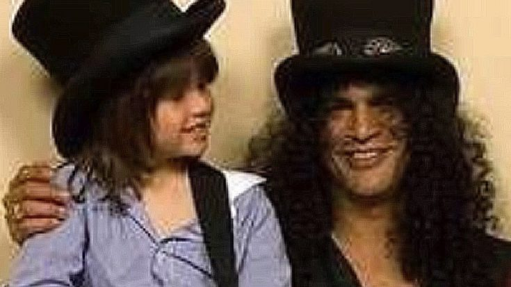 Slash's Son, London, Just Proved Looks Aren't The Only Thing They Have In Common | Society Of Rock Videos