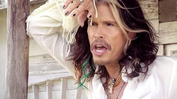 "No Valentine's Day Is Complete Without Steven Tyler's Ultra Romantic ""Love Is Your Name"" 
