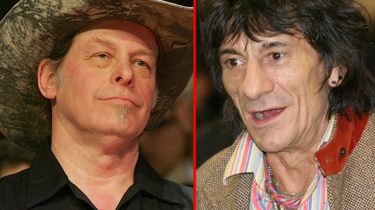 Ted Nugent Takes Savage Shot At Rolling Stones' Ronnie Wood – Fans Are NOT Happy   Society Of Rock Videos