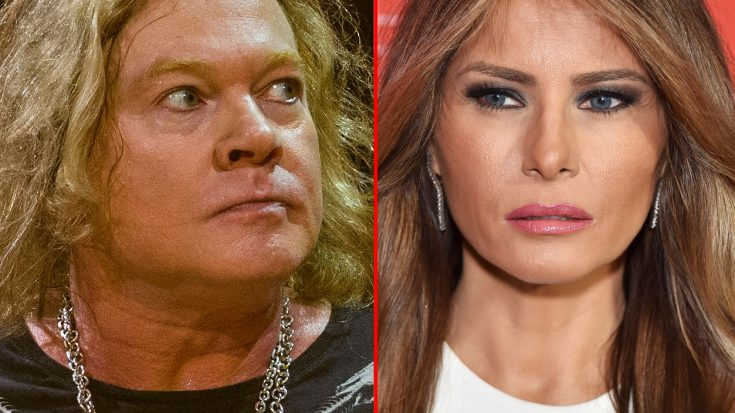 Axl Rose Rips Into Melania Trump On Twitter – You're Going To Hate What He Had To Say | Society Of Rock Videos