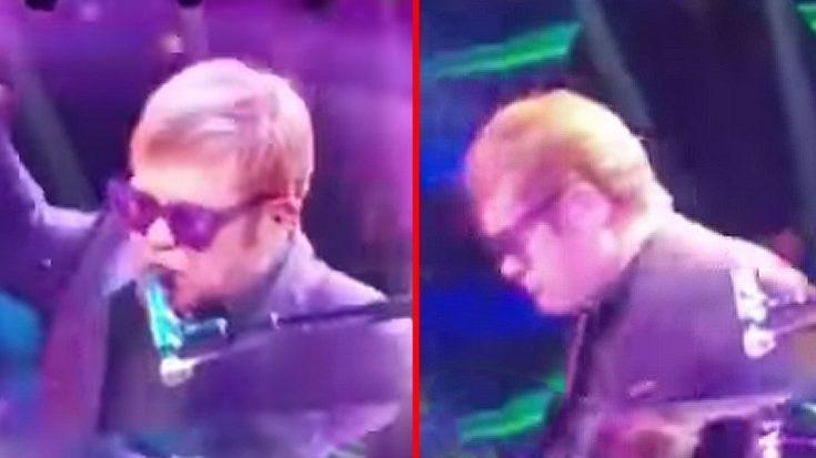 A Furious Elton John Cusses Out A Fan And Storms Off Stage… Again | Society Of Rock Videos