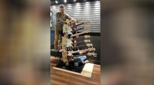 It Took Three Guys To Play This 9-Neck Guitar – Just Wait Until You Hear How It Sounds