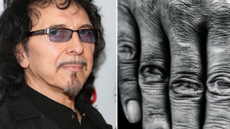 Believe It Or Not, This Simple Photo Of Tony Iommi's Hand Is Giving Fans Hope | Society Of Rock Videos