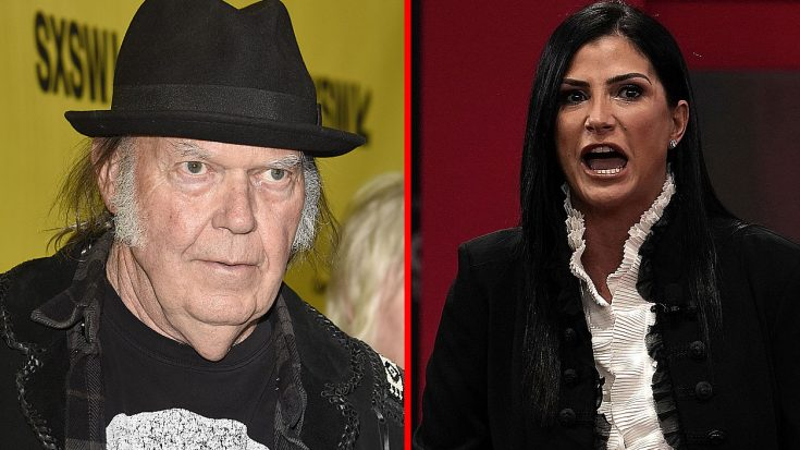 Neil Young & The NRA's Dana Loesch Are Feuding And It's Actually Really Funny