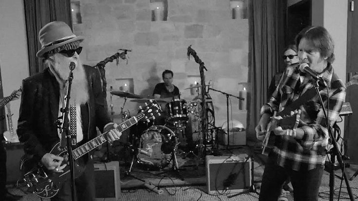 Billy Gibbons Crashes John Fogerty's Jam Sesh And Shows Him How It's Done