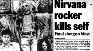 April 5, 1994: Kurt Cobain Commits Suicide, Bringing An End To A Troubled Life