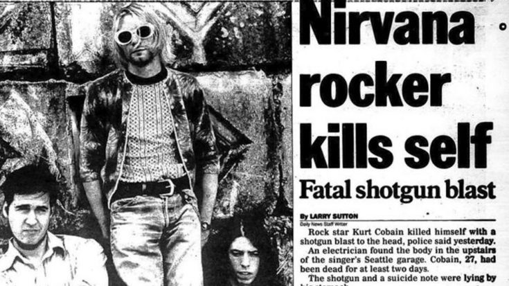 April 5, 1994: Kurt Cobain Commits Suicide, Bringing An End To A Troubled Life | Society Of Rock Videos