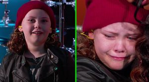 9-Year-Old Drummer Is Brought To Tears When Her Idol Surprises Her Out Of Nowhere