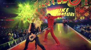 Alice Cooper's Guitarist Nita Strauss Stole The Show At Wrestlemania – Melted Every Face Off!