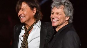 Flashback To Bon Jovi's Emotional Reunion With Richie Sambora At Last Year's Rock Hall Ceremony