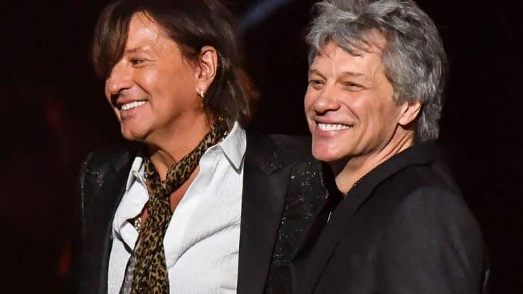 Flashback To Bon Jovi's Emotional Reunion With Richie Sambora At Last Year's Rock Hall Ceremony | Society Of Rock Videos
