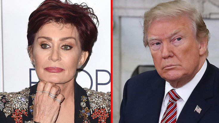 Sharon Osbourne Sums Up Living Under President Trump With One Simple, Yet Powerful Word…