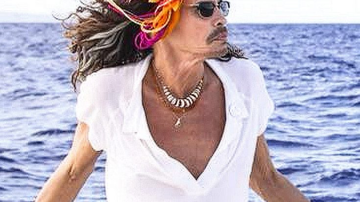 Steven Tyler Shows Off Bold Earth Day Outfit – Wait…Is That A Skirt? | Society Of Rock Videos