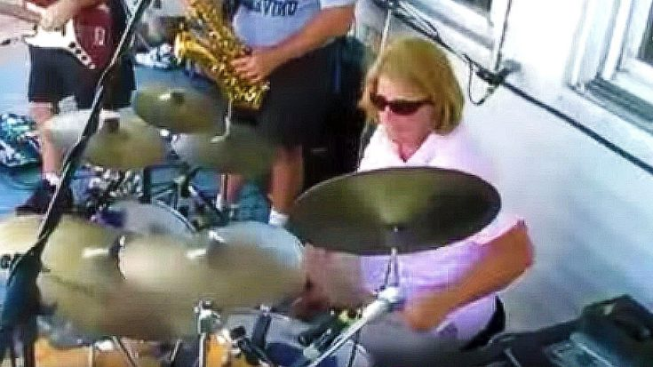 Soccer Mom Plays With Drumset At Party – No One Was Ready For What She Did Next | Society Of Rock Videos