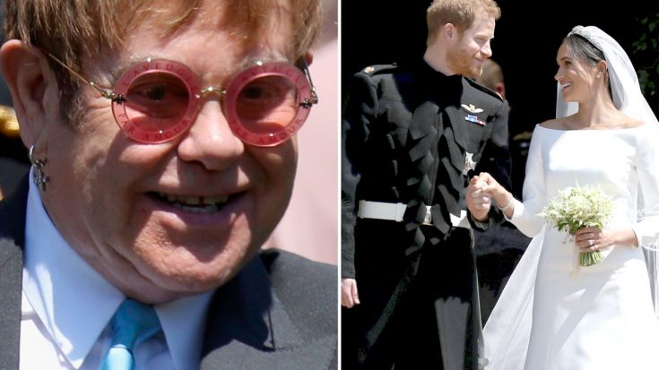 It's Official: Elton John Is The King Of Wedding Gifts, And This Sweet Story From The Royal Wedding Proves It | Society Of Rock Videos