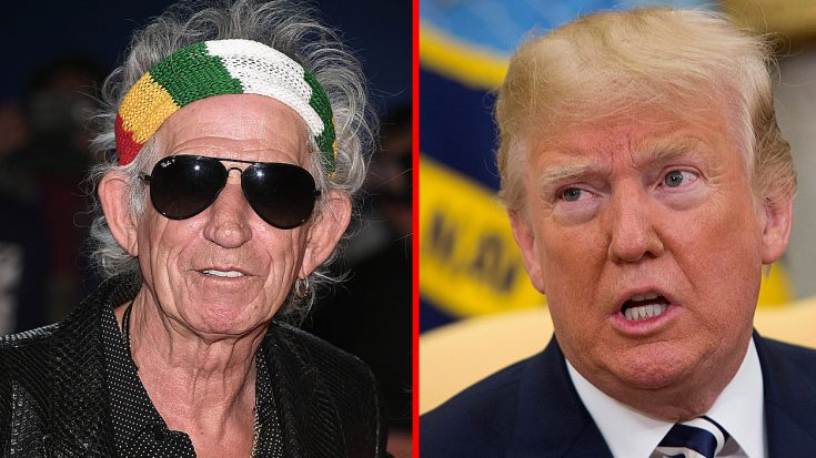 Things Almost Got Seriously Ugly Between Keith Richards And Donald Trump… | Society Of Rock Videos