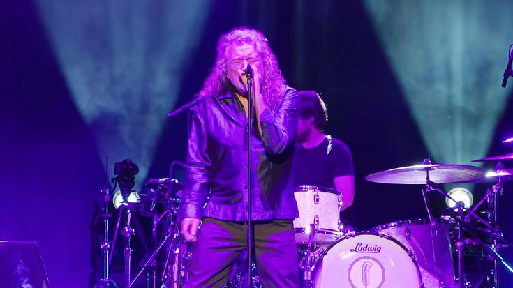 Robert Plant Just Returned To The Stage – You NEED To Hear What He Sounds Like Now