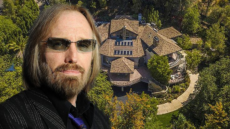 Tom Petty's Luxurious Home Is For Sale And The Photos Will Make You Jealous