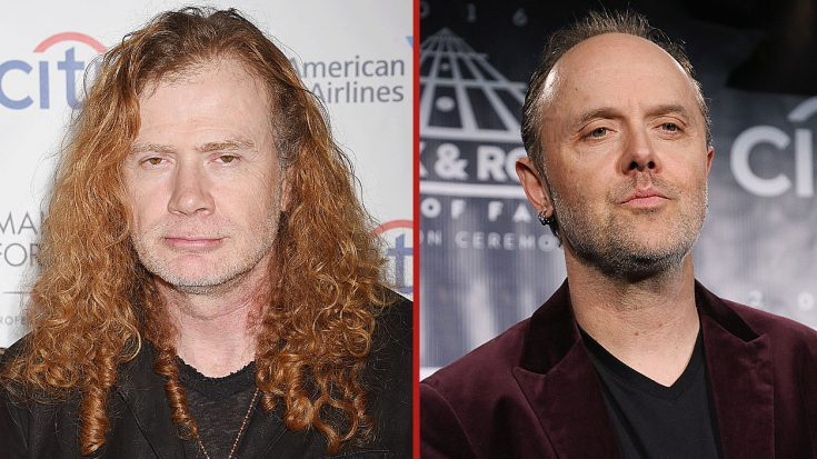 Dave Mustaine Has Some Scathing Words For Lars Ulrich – He's Not Gonna Like This… | Society Of Rock Videos