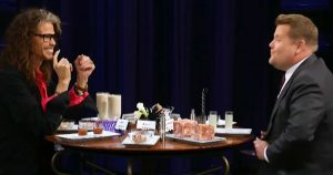 Steven Tyler Rather Eat Cow Intestines Than Answer Touchy Question