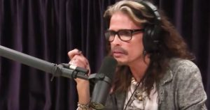 Steven Tyler Is Asked If He Misses Being Being NOT Sober