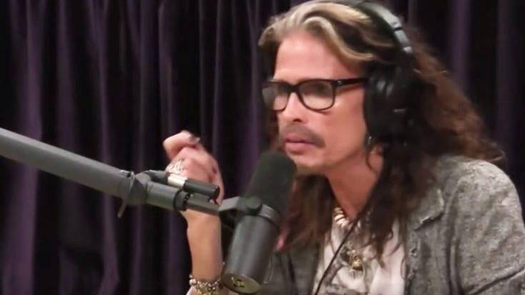 Steven Tyler Is Asked If He Misses Being Being NOT Sober | Society Of Rock Videos
