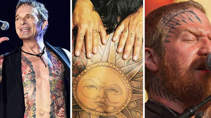 These 10+ Photos Prove That Only Rockstars Get The Most Insane Tattoos | Society Of Rock Videos