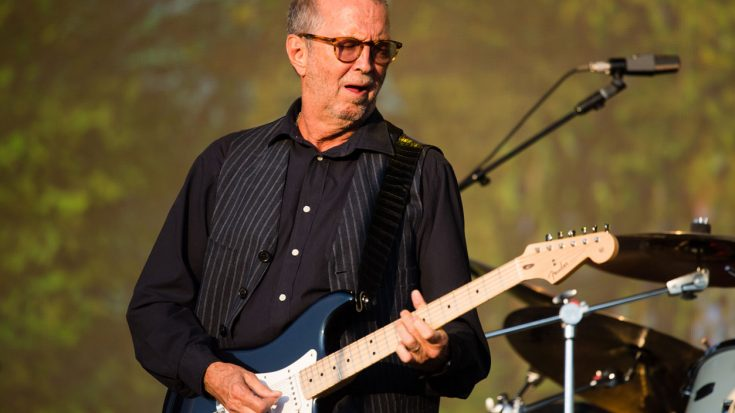 """Eric Clapton Surprises Fans With First Electric """"Layla"""" Performance In 6 Years 