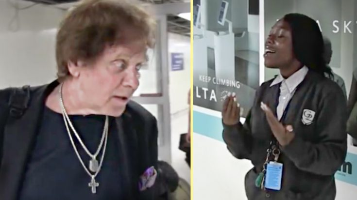 Legendary Musician Is Stopped Dead In His Tracks By LAX Employee's Unexpected Singing Voice   Society Of Rock Videos