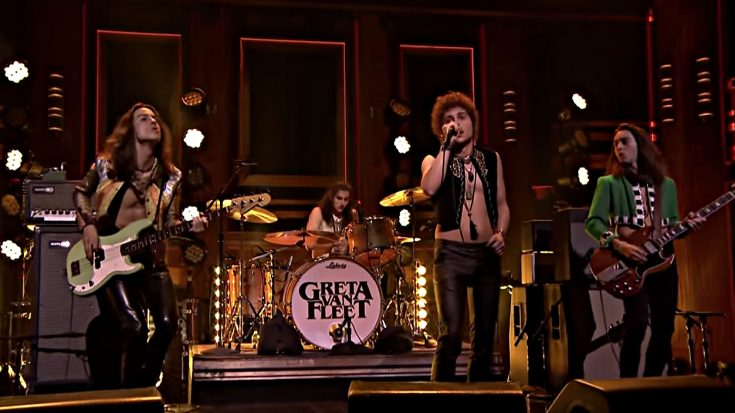 Greta Van Fleet Just Brought Classic Rock Back Into The Mainstream On Live TV | Society Of Rock Videos