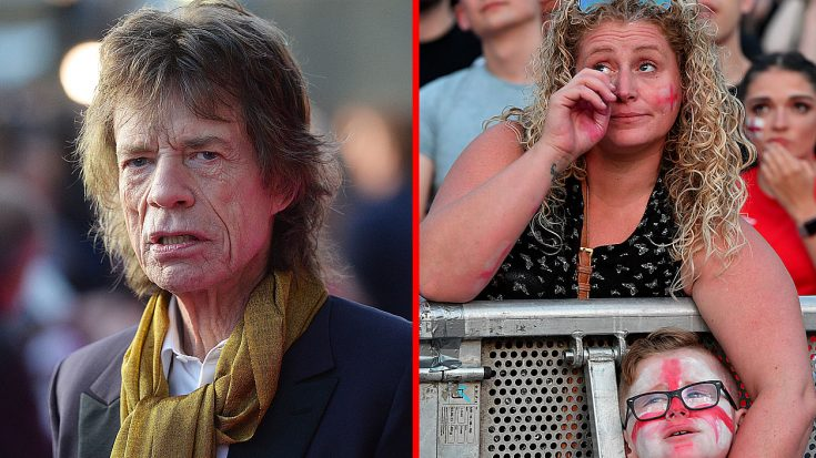 Mick Jagger May Be The Reason England Didn't Make It To The World Cup – And Fans Are Pissed