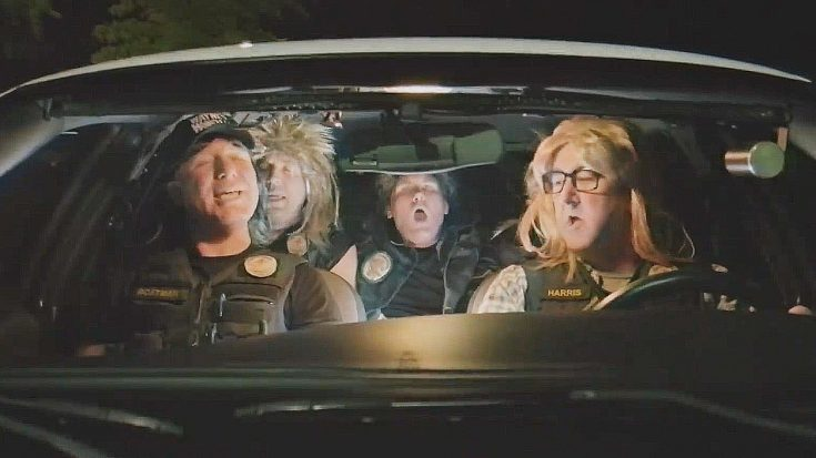 """These Police Officers All Decided To Lip Sync Queen's """"Bohemian Rhapsody"""" And Are Winning The Internet   Society Of Rock Videos"""