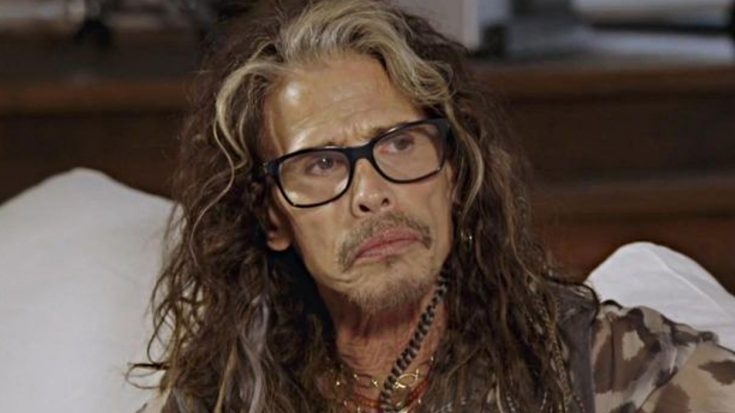 With Tears In His Eyes, Steven Tyler Reveals The Thing That He's Most Grateful For | Society Of Rock Videos